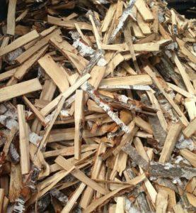 Мелкие колотые дрова