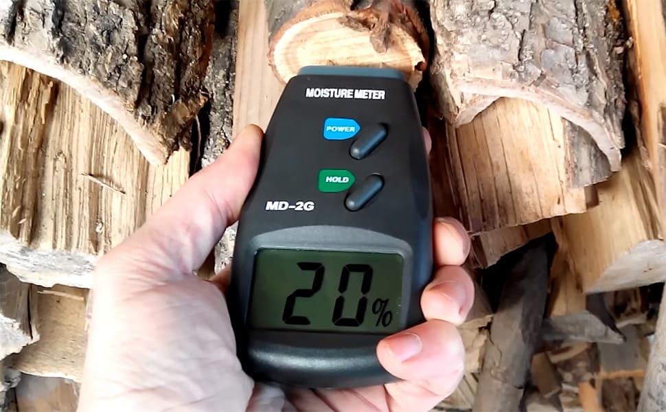 Определение влажности дров