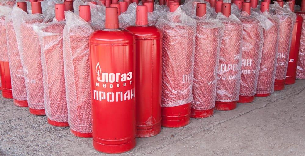 Газовая смесь в балонах