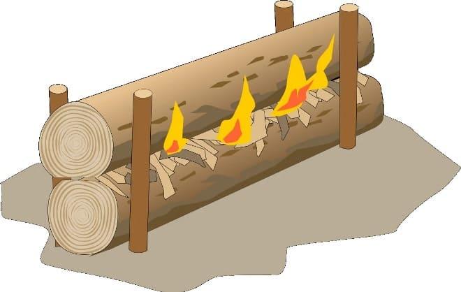 Разжигаем костер