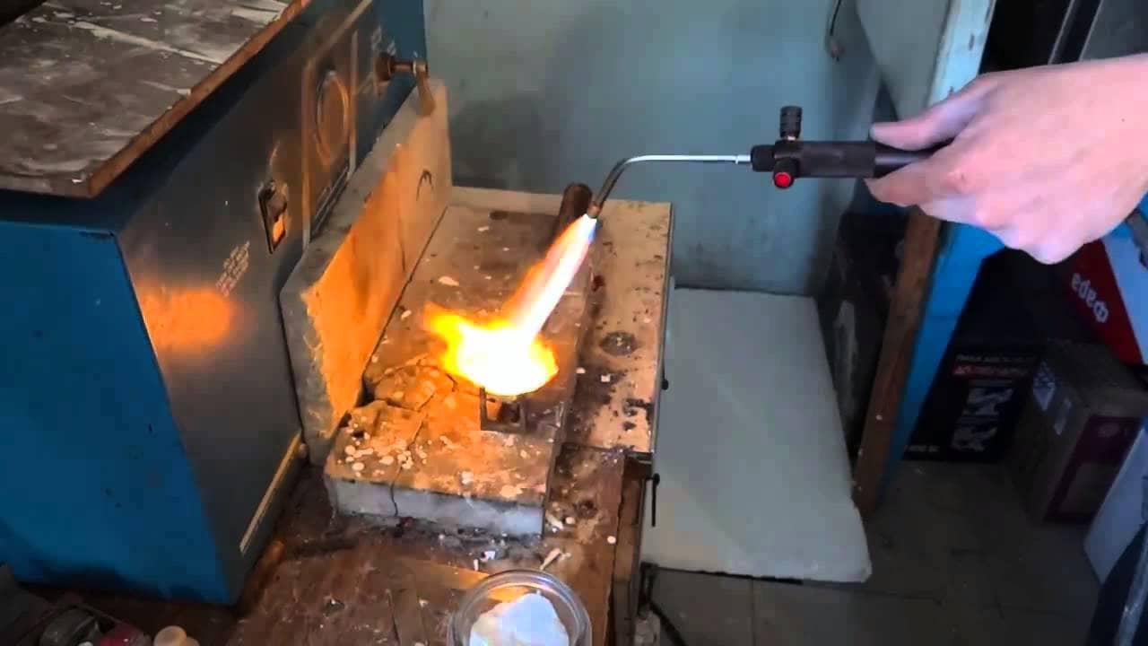 Настройка горелки