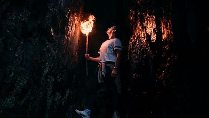 Факел позволит уберечь огонь от осадков