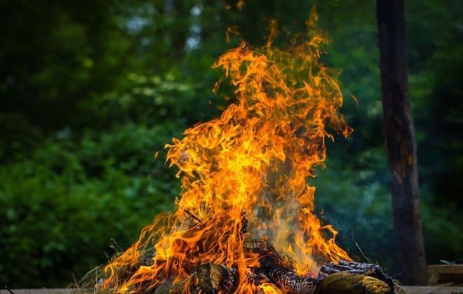 Пламенный костер