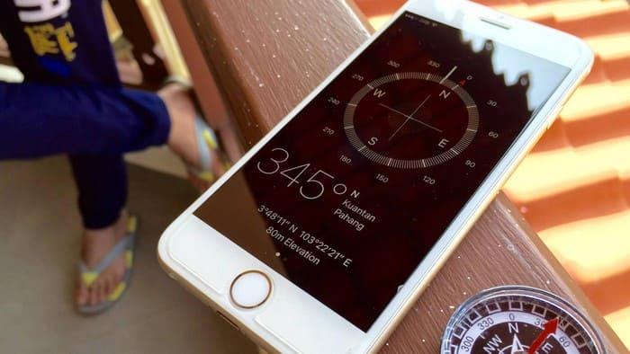 Компас в айфоне