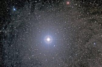 Полярная звезда - самая яркая