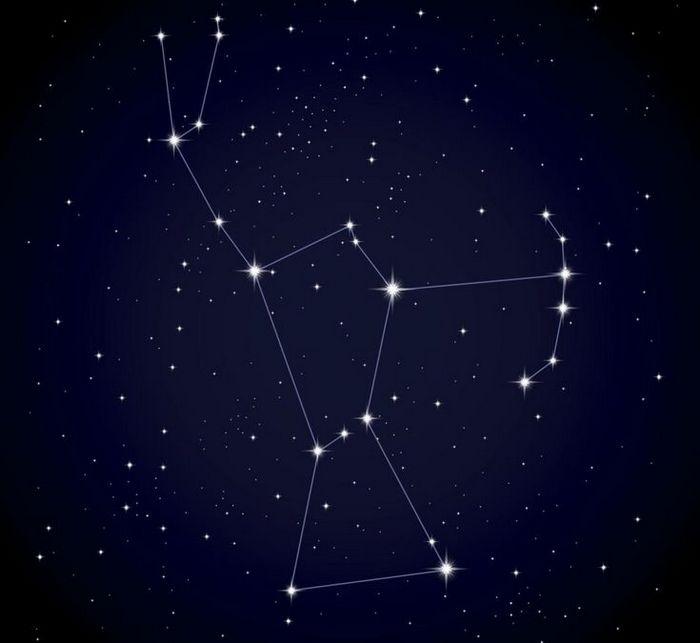 Стороны света определяются по созвездию Орион