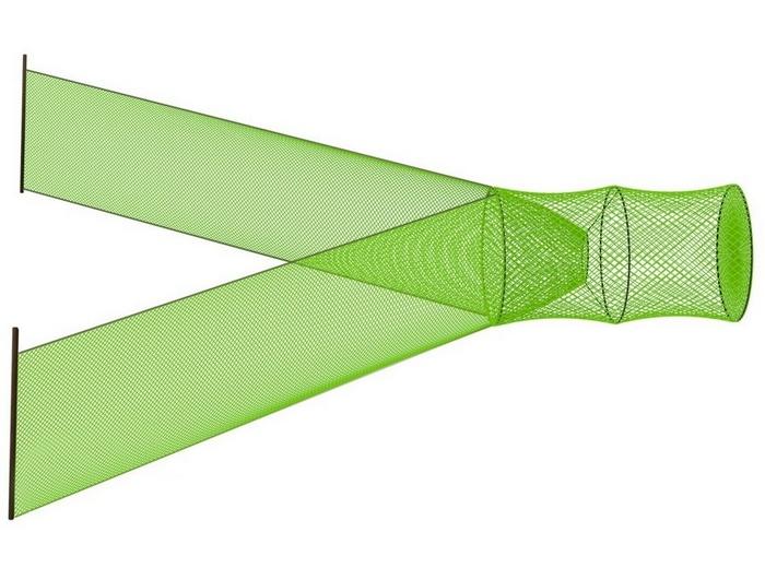 Мережа может иметь фигурную форму