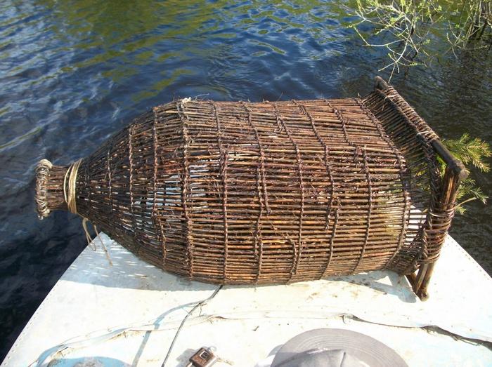 Верша – древний вид рыболовной снасти