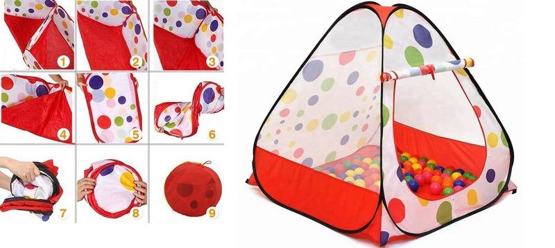 Алгоритм сборки детской палатки