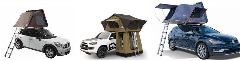 Автопалатки: IKamper Skycamp Mini, Cascade Vehicle Tents Pioneer, Roofnest Condor