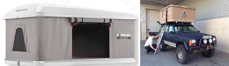 Автопалатки: Maggiolina Airlander Plus и Maggiolina Grand Tour