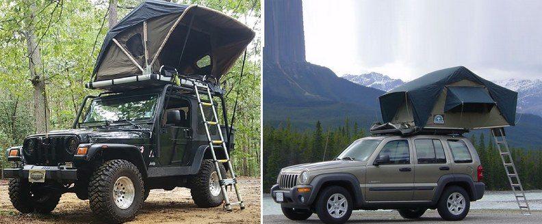 Автопалатки: Raptor Series Voyager и CTV MT. McKinley