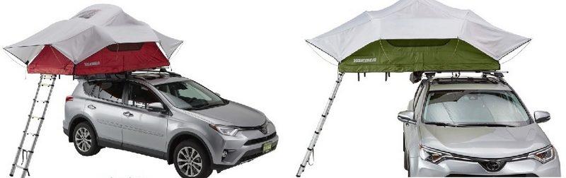 Автопалатки: Yakima SkyRise и Yakima SkyRise HD Tent Medium