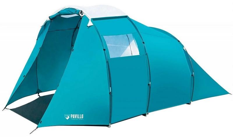 BestWay 67440 - самораскладывающаяся палатка, которая отличается оригинальным дизайном и приятной расцветкой