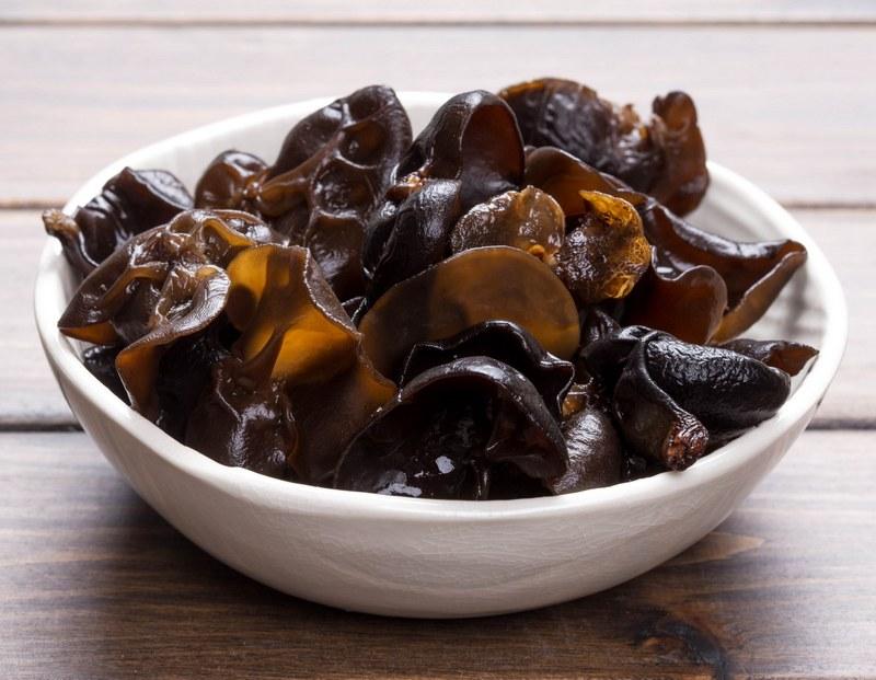 Древесные грибы муэр широко применяются в восточной кулинарии