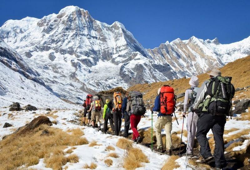 Горные походы совершаются значительной высоте над уровнем моря и требуют особой подготовки