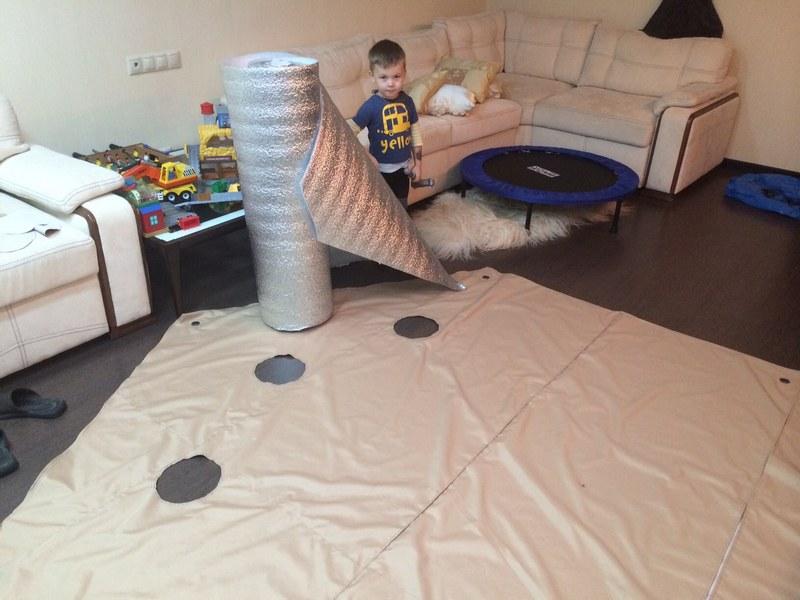 Изготовить пол для палатки своими руками намного дешевле, чем приобрести готовое изделие