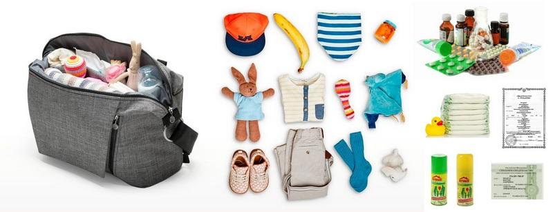 Обязательные вещи для походов с детьми