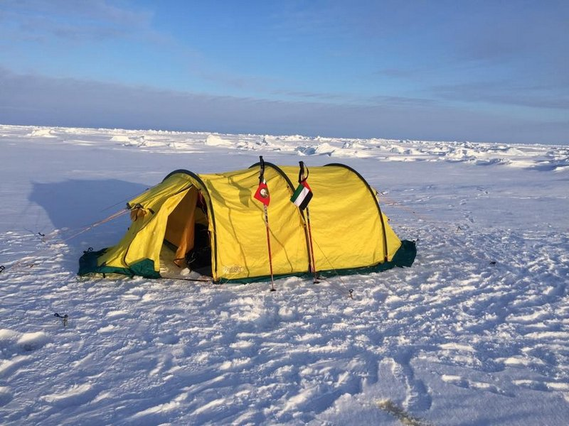 Палатка для экстремальных условий