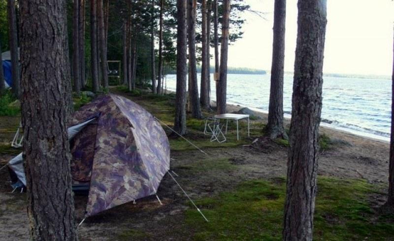 Палаточный отдых на Сямозере