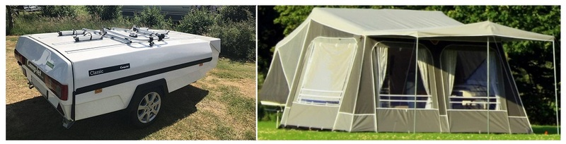 Прицеп-палатка Camp let Classic