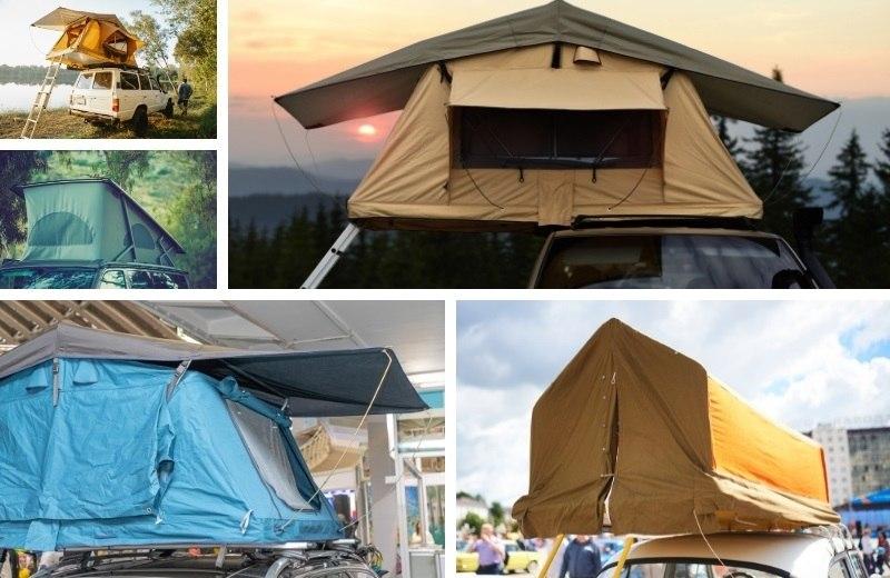 Производители выпускают множество палаток на любой вкус