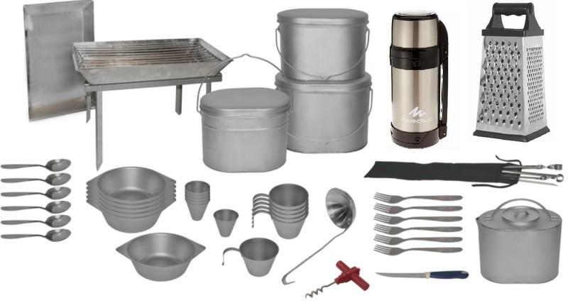 Рекомендуемая посуда для похода