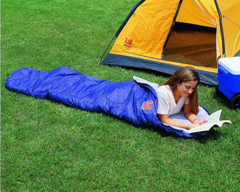 Спальный мешок — необходимая вещь для комфортного ночлега в походных условиях