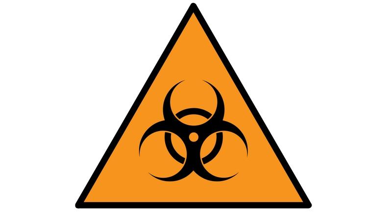 Биохазард — международный знак биологической опасности