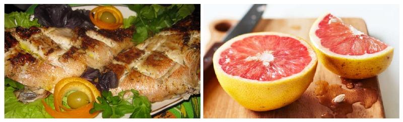 Блюдо из окуня на гриле с маринадом из грейпфрута подойдет тем, кто хочет получитьвкус рыбы с необычными вкусовыми оттенками