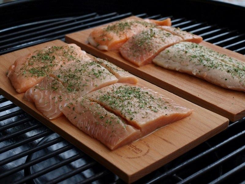 Для шашлыка годится любая свежая рыба