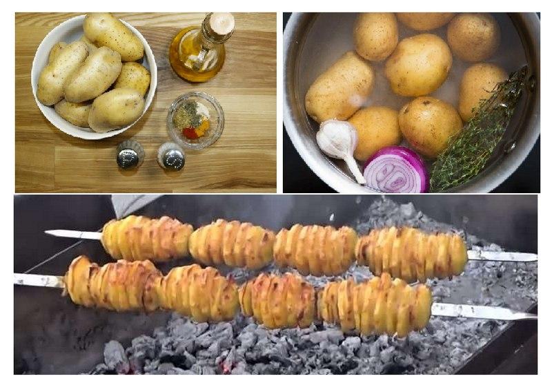 Маринование картошки перед запеканием значительно улучшает аромат и вкус блюда
