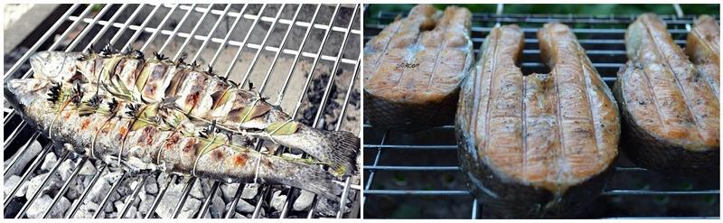 Форель можно запечь целиком или приготовить филе рыбы