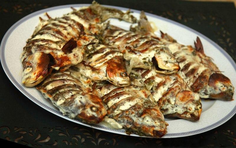 Караси в сливочном маринаде - аппетитное и приятное на вкус кушанье