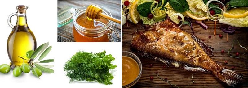 Морской окунь в норвежском соусе - замечательное блюдо на обед или ужин