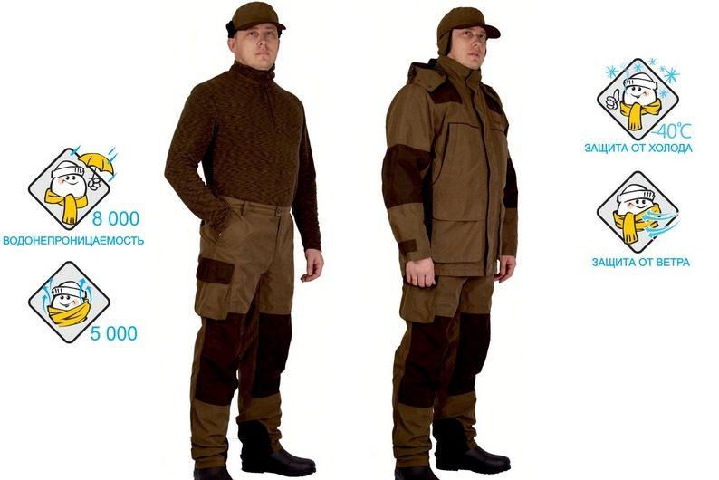 Одежда для охоты должна соответствовать сезону, быть лёгкой и защищённой от влаги