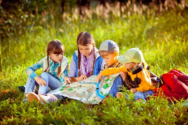 Перед походом следует провести с детьми беседу о правилах поведения на дороге и в лесу