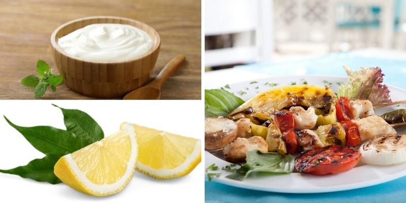 Шашлык из сома со сметаной и лимоном - необычное, но очень вкусное блюдо