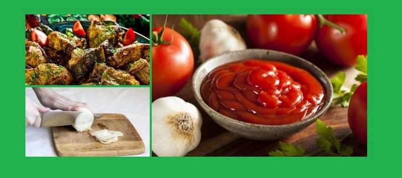 Шашлык из сома в томатной пасте - это необычайно вкусный и полезный деликатес