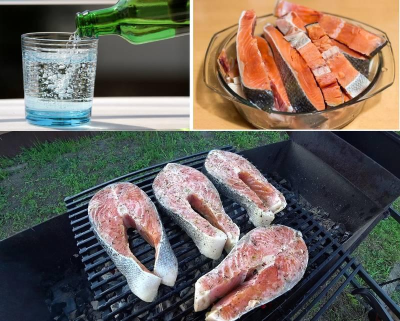 Семга в маринаде на основе минеральной воды - простой и доступный рецепт вкуснейшего кушанья