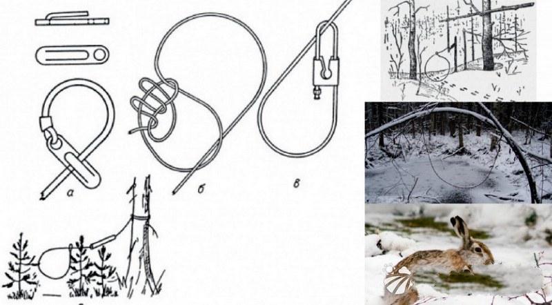 Схема для самостоятельного изготовления и установки петли