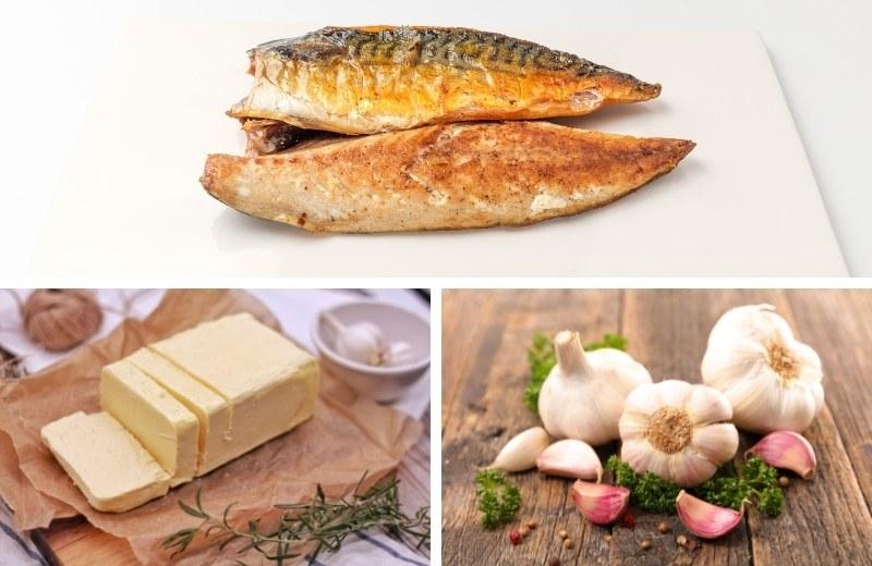 Скумбрия со сливочным маслом и чесноком -ароматное и питательное блюдо