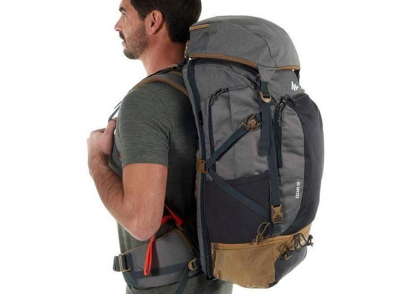 Собранный рюкзак следует надеть и немного походить по комнате