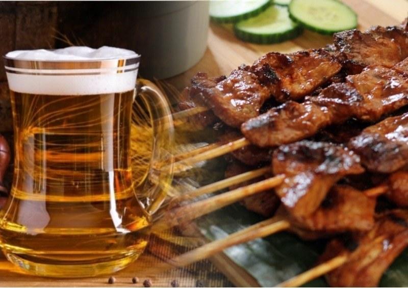 Сочетание мяса кролика и пива - оригинальный вариант для приготовления шашлыка