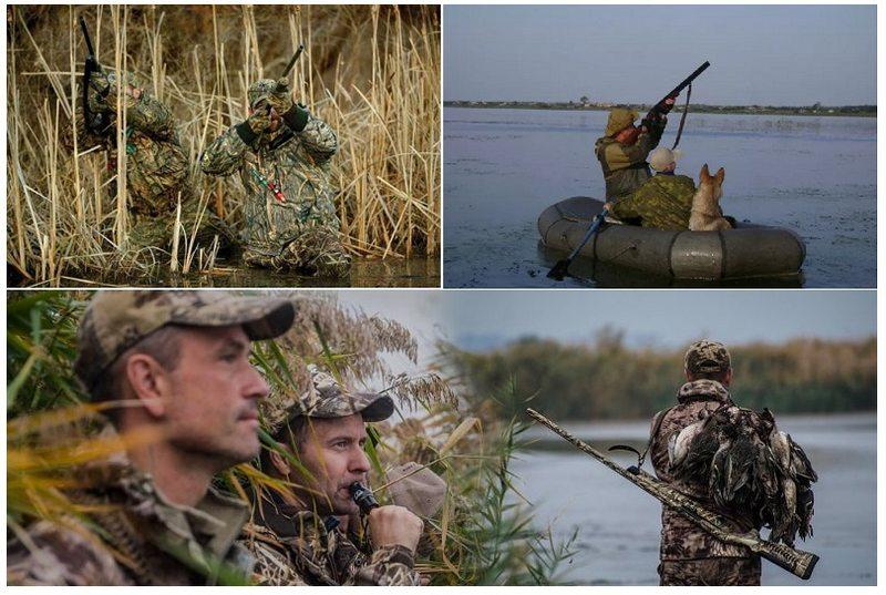 Существует множество вариантов охоты на водоплавающую дичь