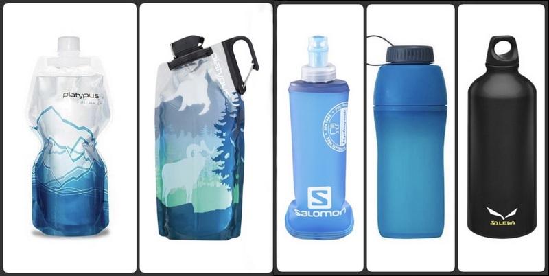 В качестве емкости для питьевой воды рекомендуется выбрать туристическую флягу