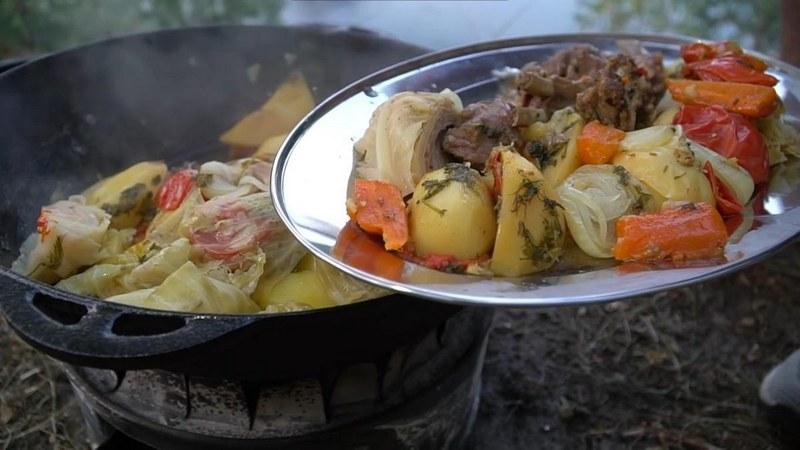 Домляма по-узбекски - вкусное национальное угощение, которое издавна готовят в Средней Азии