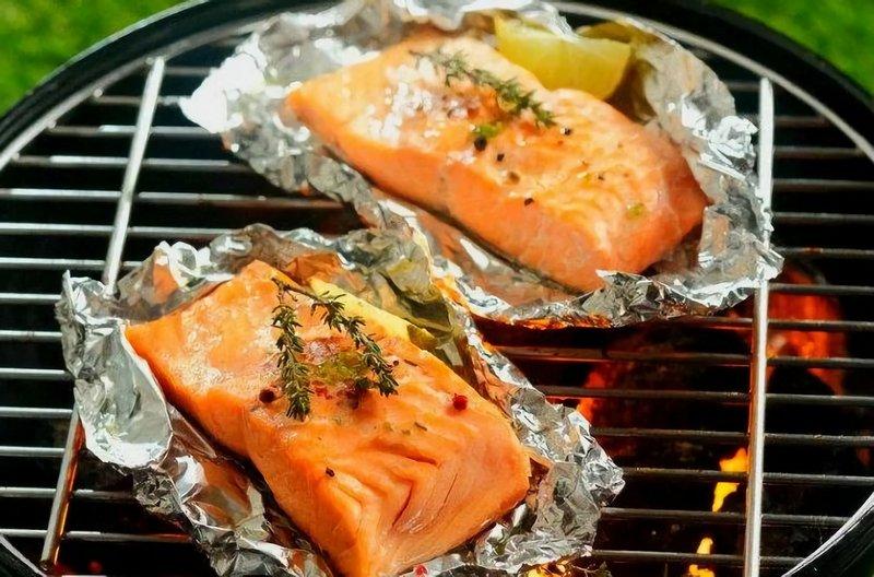 Филе рыбы в фольге на углях - простой и доступный рецепт вкуснейшего кушанья