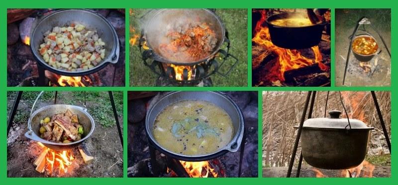 В казане с легкостью можно приготовить любое блюдо, начиная с традиционного плова и заканчивая рыбной ухой