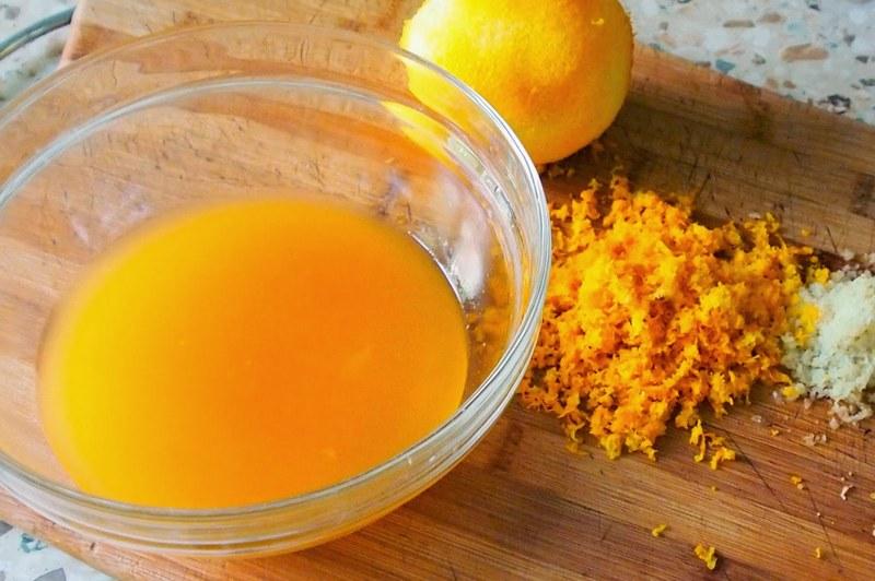 Маринад из апельсинового сока сделает вкус блюда ярче